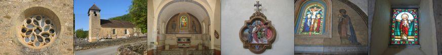 Cazes, notre église romane
