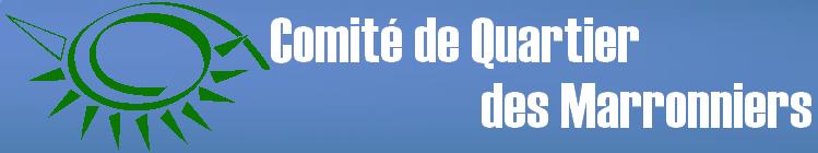 COMITÉ DES INTÉRÊTS DE QUARTIER   R des Marronniers Rte de Générac