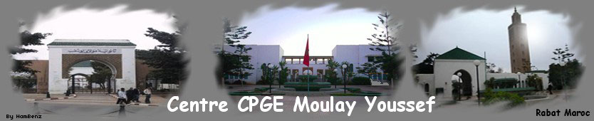 Centre CPGE Moulay Youssef Rabat MAROC
