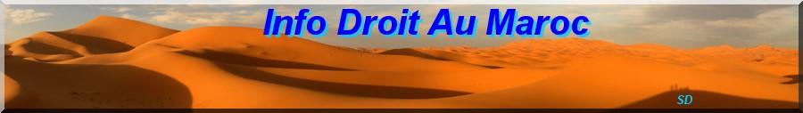 Info Droit au Maroc