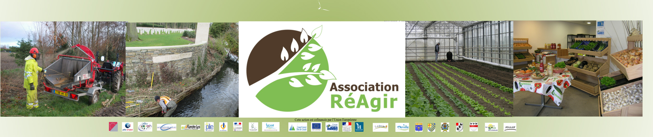 RéAgir Association Ateliers et Chantiers d'Insertion Lestrem